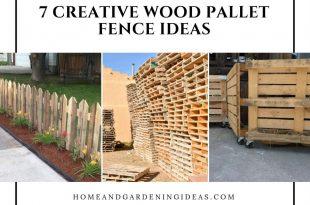 7 Creative Wood Pallet Fence Ideas