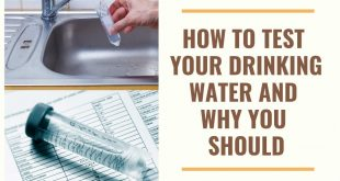 When and How to Test Your Water