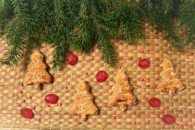 Pine Needle Cookies