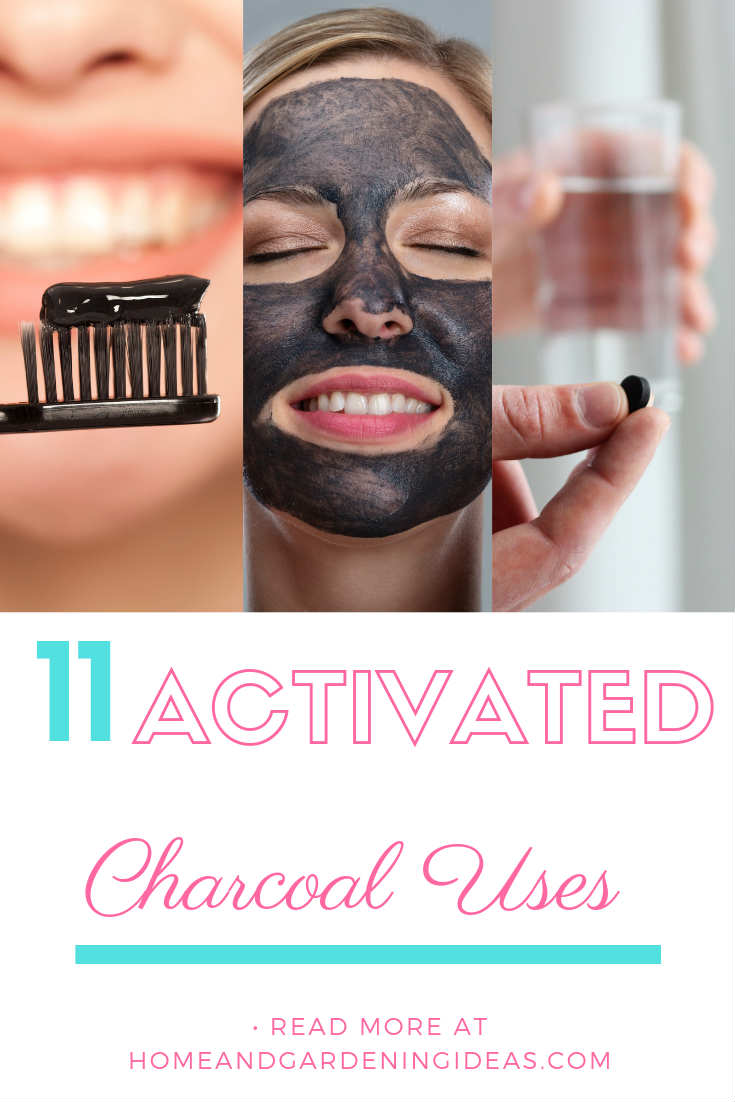 Activated Charcoal uses
