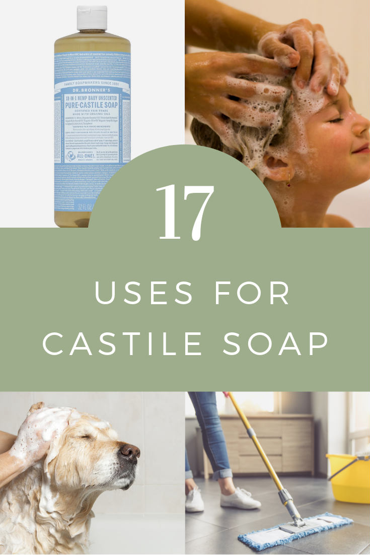 Uses for Castile Soap Pinterest
