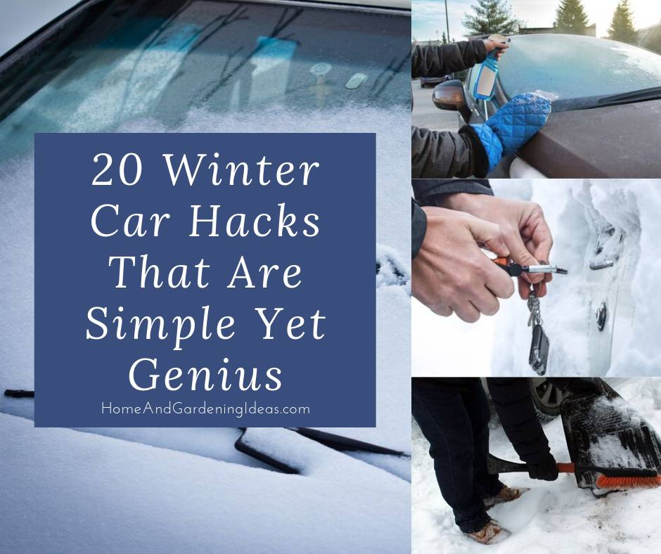 20 Winter Car Hacks