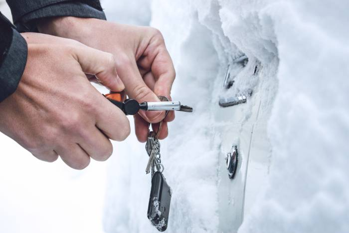 Heat Your Car Key