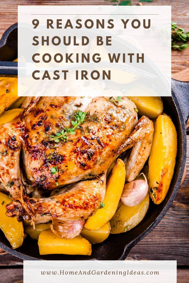 Reasons you should be cooking with cast iron