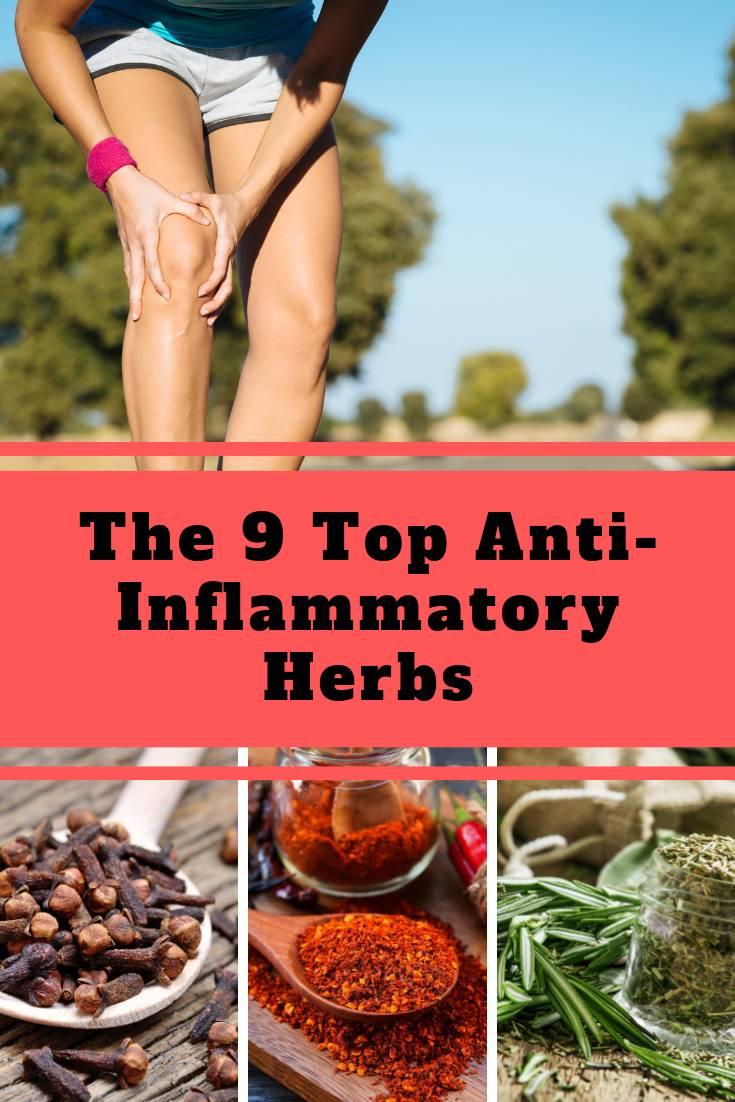 The 9 Top Anti-Inflammatory Herbs