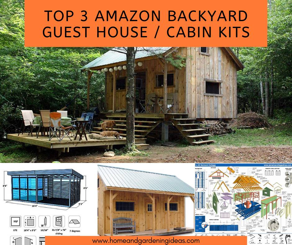 Top 3 Backyard Guest House Or Cabin Kits