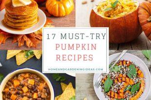 17 Must-Try Pumpkin Recipes