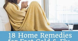 18 Home Remedies for Fast Cold & Flu Relief